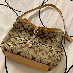 Authentic Vintage Coach Handbag